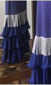 Vestido Azul c/Franja