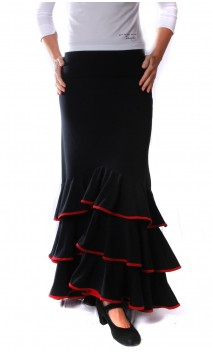 Saia Flamenca Eva Collin