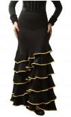 Cádiz 6 Ruffles Long-Skirt