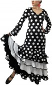 Vera Polka-dots Long-Dress