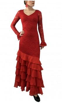 Vestido Josephine Encajes