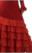 Vera Lace Long-Dress