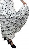 Letizia Lunarcitos 8 Ruffles Long-Skirt