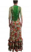 Conjunto Vestido Maura Floral c/Xale