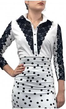 Alhambra Shirt w/ Lace