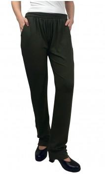 Olive Green Confort Debora Pants