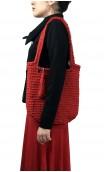 Bolso en Crochet Rojo