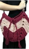 Bolsa de Crochet Rosa