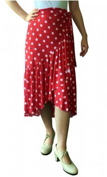 Sophie Wrap Over Mid-Skirt
