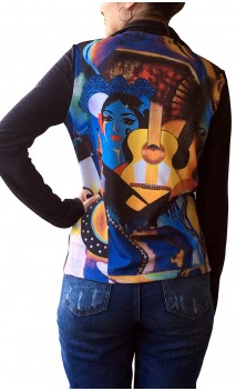 Blue Print Jacket