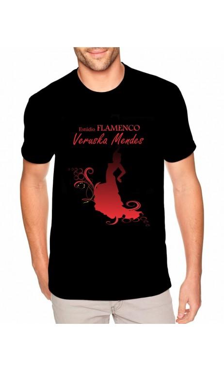 Camiseta Masculina Estudio Flamenco Veruska Mendes