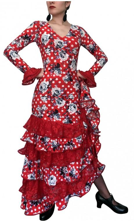 Vera Printed Long-Dress