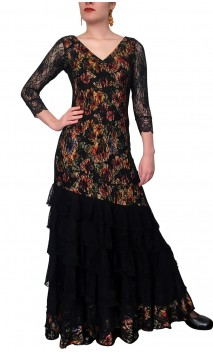 Vera Lace Long-Dress