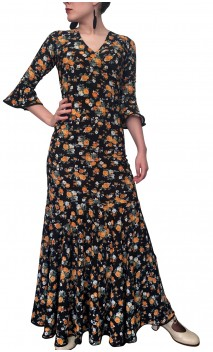 Marian Floral Skirt & Top Set