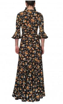 Marian Floral Skirt & Top Set