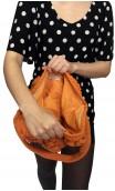 Orange Crochet Bag