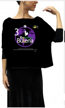 Blusa Morcego Mosaico - Festa Buleria Perla