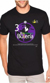 Camiseta Masculina - 3ª Fiesta de La Buleria Brasil