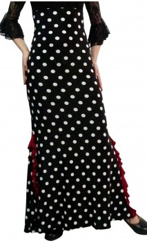 Polka-dots Lola Skirt High Waist