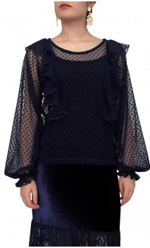 Lilly Tulle Blouse