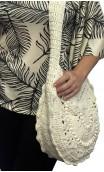 Bolso en Crochet Beige Claro