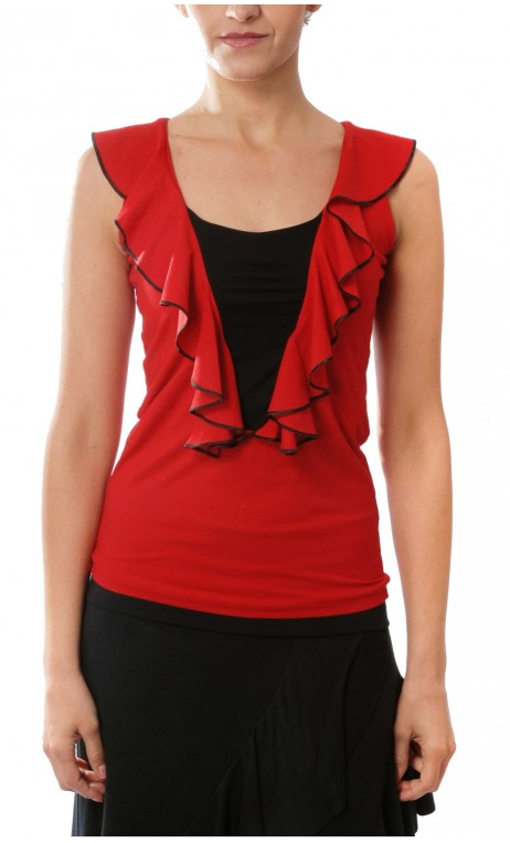 Juana Flamenco Top