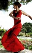 Saia Flamenca Juana c/Babadinhos