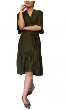 Vestido Midi Sophie Transpassado