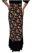 Agnes 1 Ruffle Printed Flamenco Skirt