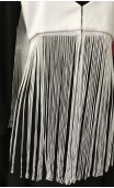 "Flamenco Vest w/ Fringe 15.7"""