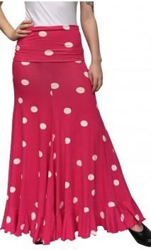 Vitoria Polka-dots Flamenco Skirt