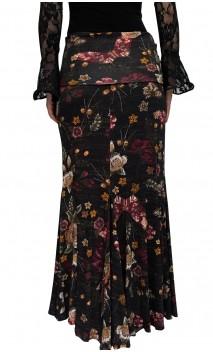 Saia Flamenca Lola Floral