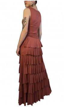 Falda Flamenca Simone 7 Volantes