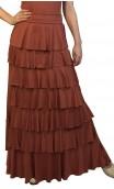 Simone Flamenco Skirt 8 Ruffles