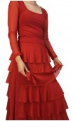 Simone Flamenco Skirt Tulle Ruffles