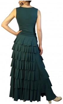 Simone Flamenco Skirt 7 Ruffles