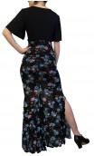 Tulle Floral Lola Flamenco Skirt