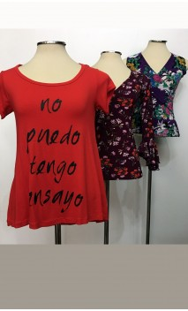 Conjunto 3 blusas
