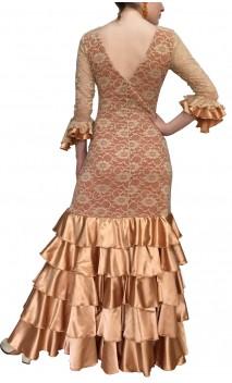 Duna Lace Flamenco Dress 5 Ruffles