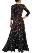 Vestido Flamenco Nora Godê Bolinhas