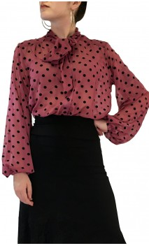Camisa-Colant Carmela Chiffon Estampada