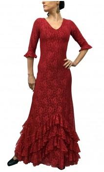 Vestido Milene Encajes c/ Enagua