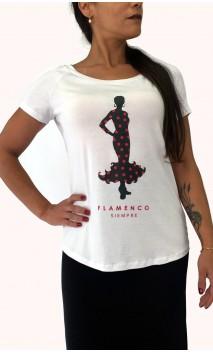 "Blusa ""Flamenco Siempre"""