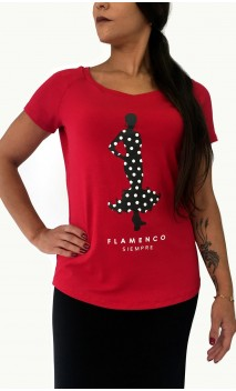 "Camiseta ""Flamenco Siempre"""
