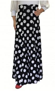 Polka-dots Anna Godet Flamenco Skirt