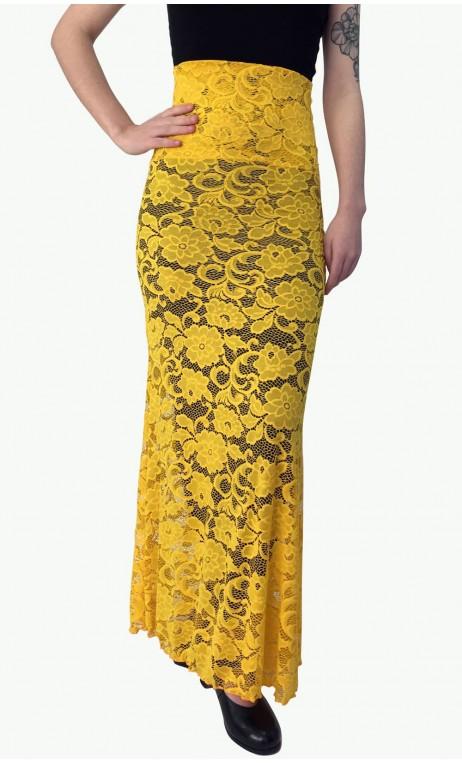 Lace Olga Flamenco Skirt