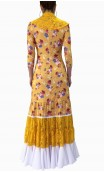 Frida Flamenco Dress Canastera Style