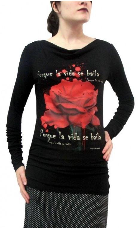 Blusa Perla Rosa Vermelha