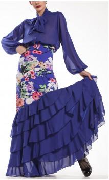 Shirt & Skirt 6 Ruffles Neo Garden Flamenco Set