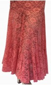 Olga Lace Flamenco Dress w/ Ruffles Details